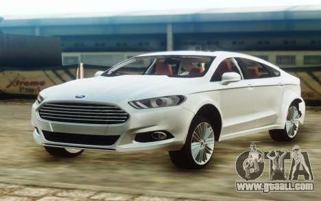 Ford Fusion for GTA San Andreas