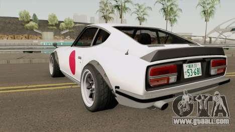 Nissan Fairlady 240Z Japan Anniversary Edition for GTA San Andreas