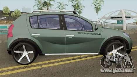 Renault Sandero StepWay for GTA San Andreas