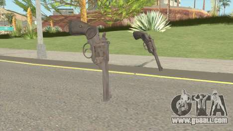 Webley 38 for GTA San Andreas
