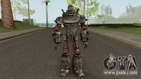 Fallout 3 Liberty Prime for GTA San Andreas