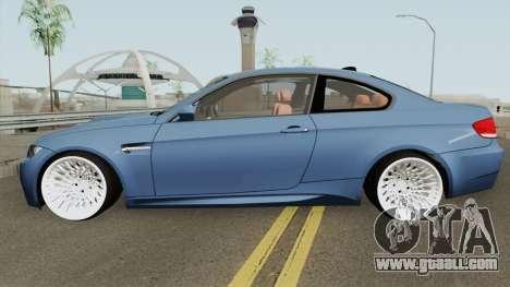 BMW M3 E92 HQ for GTA San Andreas