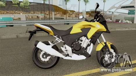 Honda CB500X 2015 for GTA San Andreas