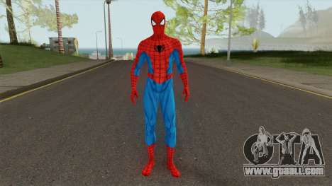 Marvel Spider-Man Classic Suit for GTA San Andreas