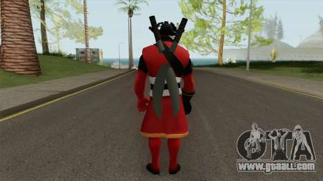 DeadPool Pirate for GTA San Andreas