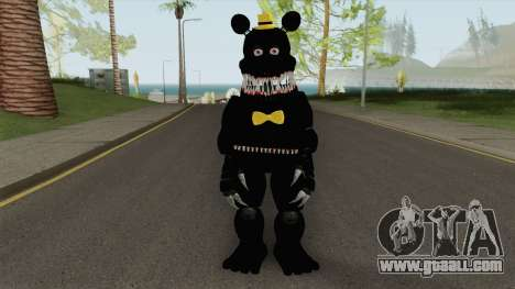 FNaF Nightmare v7 for GTA San Andreas
