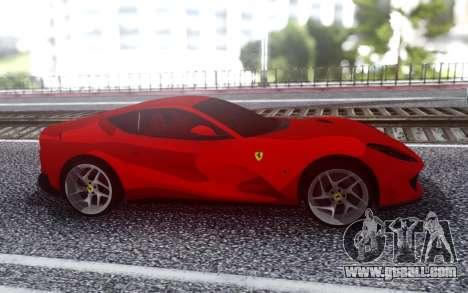 Ferrari 812 Superfast for GTA San Andreas