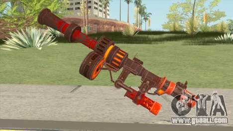 Rules of Survival RPG Pyroclasm for GTA San Andreas