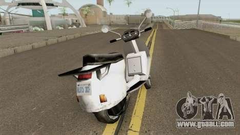 Faggio LE for GTA San Andreas