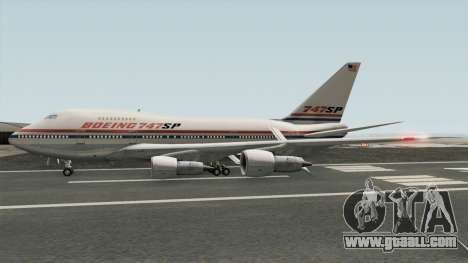 Boeing 747SP for GTA San Andreas