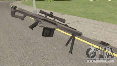 BARRETT XM109 Carbon Fiber (.25mm) for GTA San Andreas