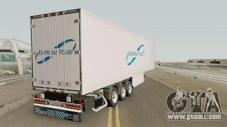 Remolque Empresas Polar for GTA San Andreas