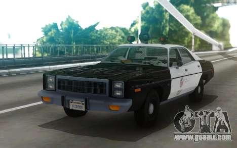 1978 Plymouth Fury Los Angeles Police Departamen for GTA San Andreas