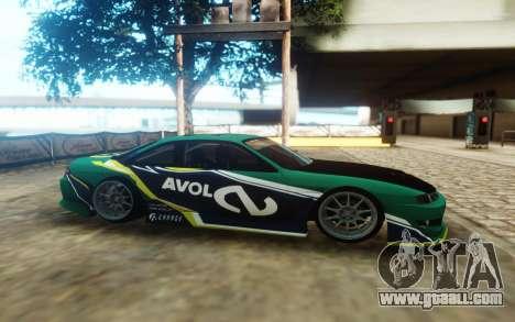 Nissan 200SX S14 Kouki Avol for GTA San Andreas