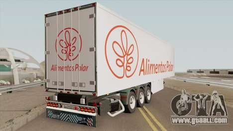 Remolque Alimentos Polar for GTA San Andreas