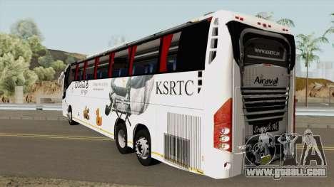 Volvo KSRTC AIRAVAT for GTA San Andreas