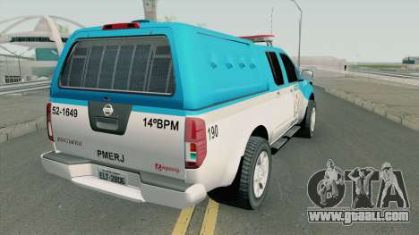 Nissan Frontier PMERJ 2013 for GTA San Andreas