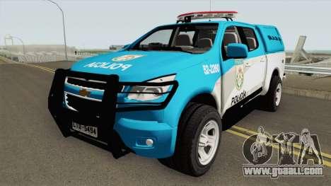 Chevrolet S10 PMERJ for GTA San Andreas