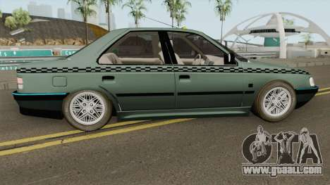 Peugeot 405 GLX TAXI NEW for GTA San Andreas