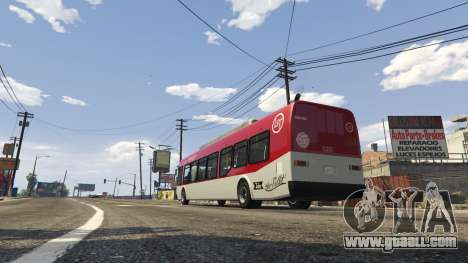 GTA 5 LSTransit Bus Mod 1.0 beta