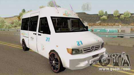 Mercedes Benz Sprinter for GTA San Andreas