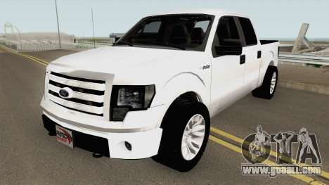 Ford F150 Police Unmarked for GTA San Andreas