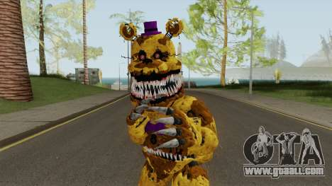 Nightmare Fred Bear V7 for GTA San Andreas