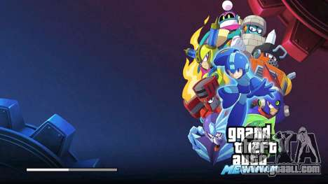 Mega Man Loading Screen for GTA San Andreas