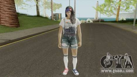 MP Teen Girl for GTA San Andreas