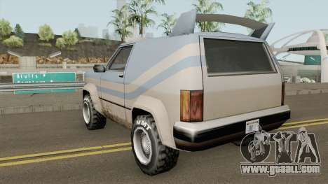 Rancher Safari for GTA San Andreas