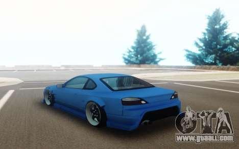 Nissan Silvia S15 Moze-R for GTA San Andreas