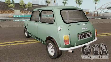 Mini 1275 GT for GTA San Andreas