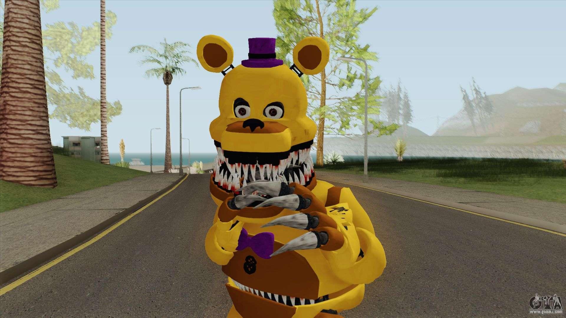 FNaF Fred Bear v7 for GTA San Andreas