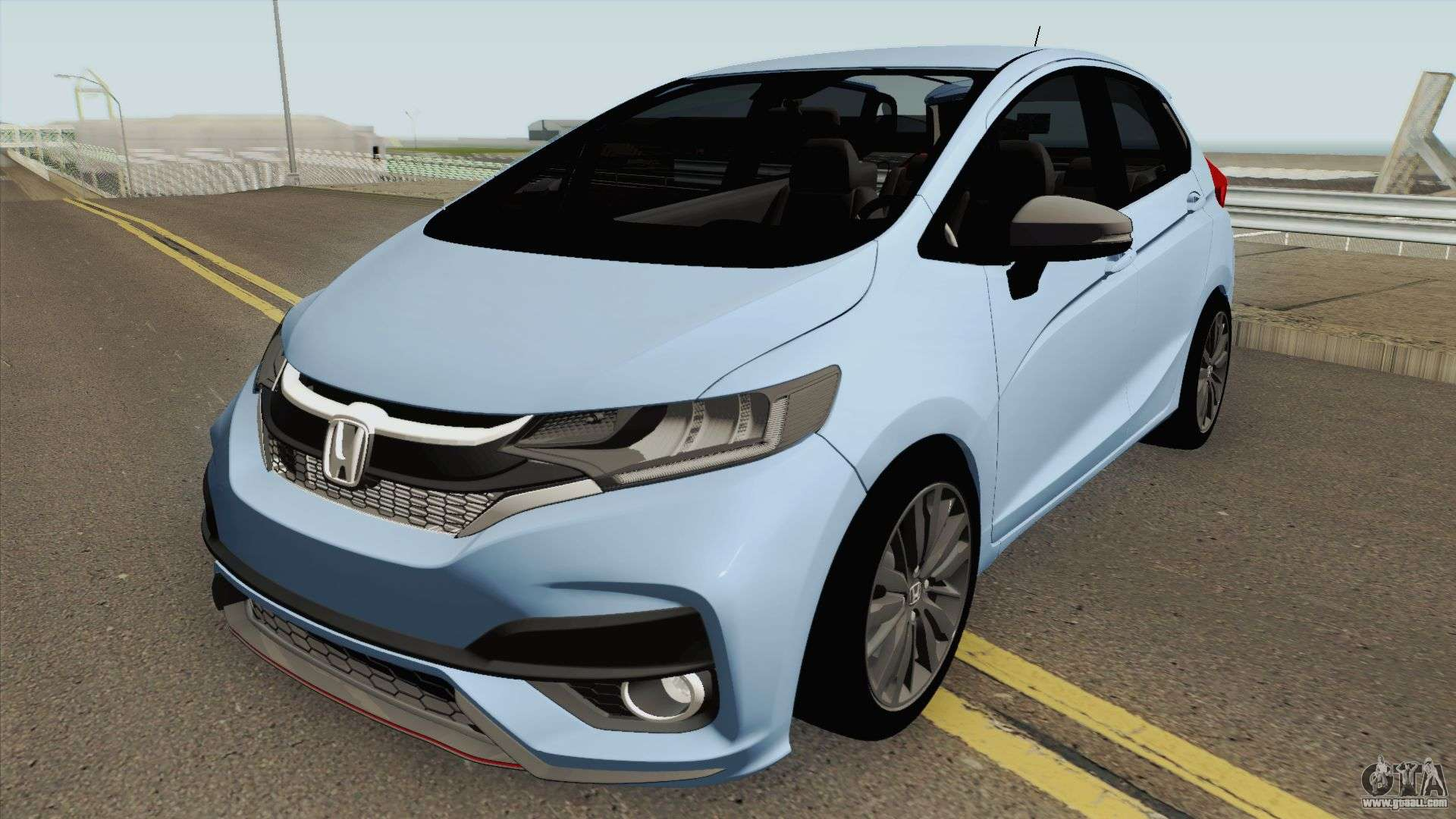 Honda Fit Facelift 2018 For Gta San Andreas