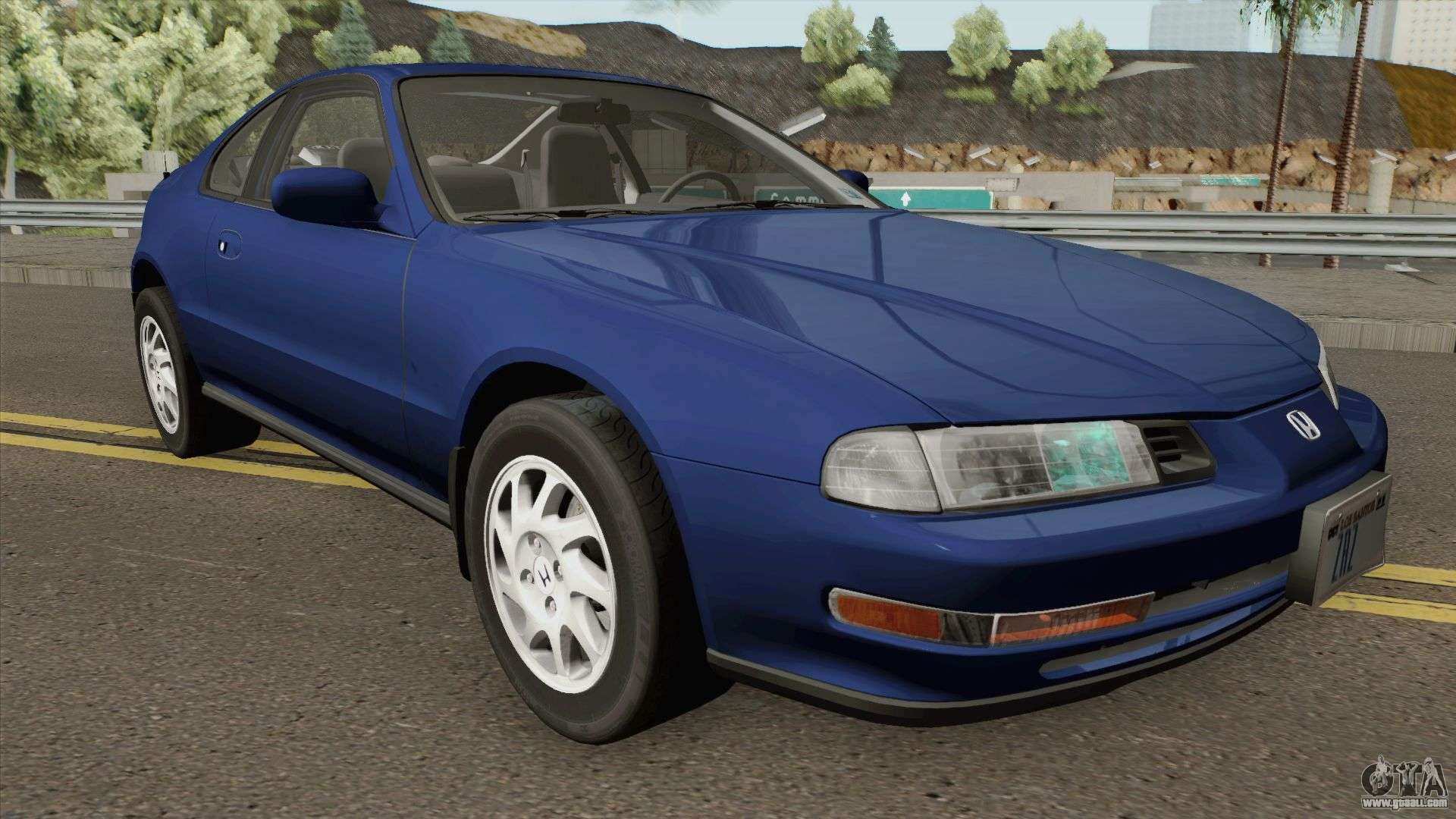 honda prelude si mk4 1994 us spec for gta san andreas. Black Bedroom Furniture Sets. Home Design Ideas