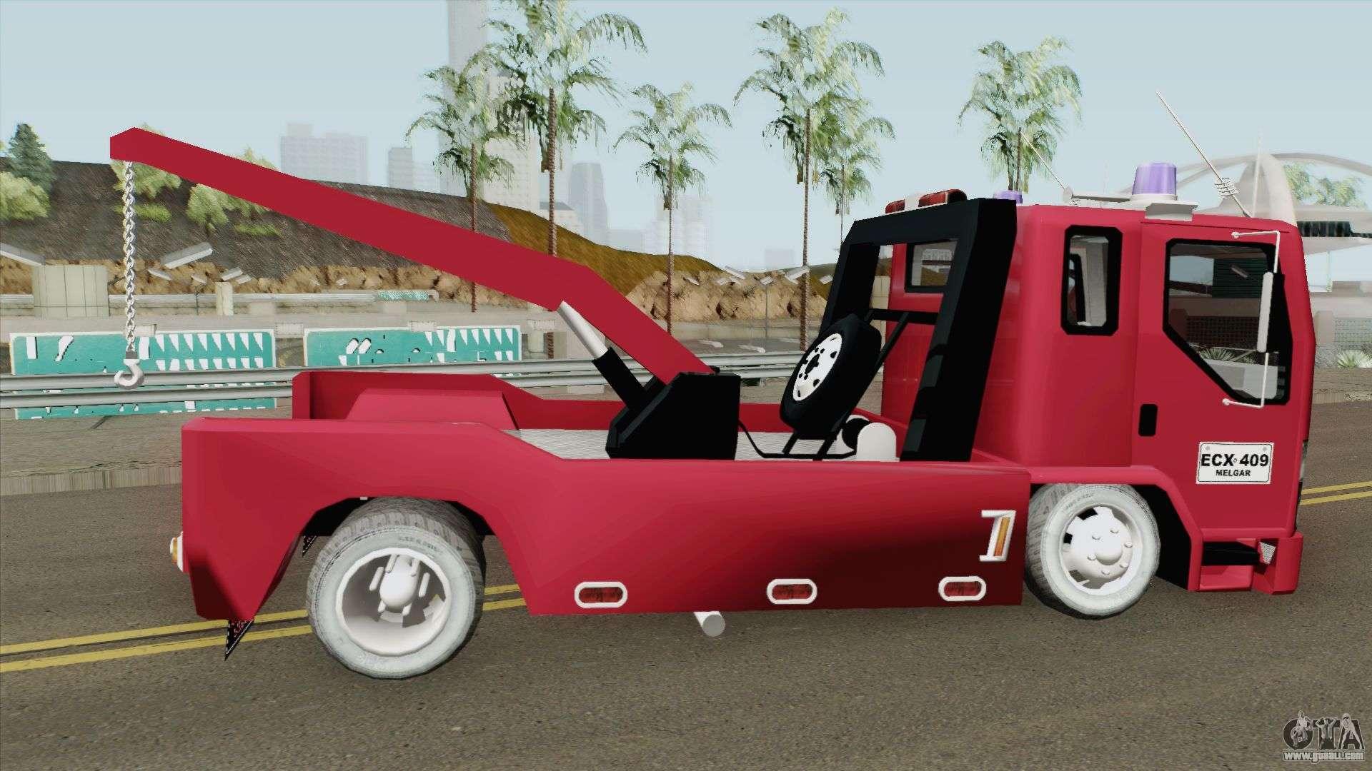Chevrolet NPR GRUA for GTA San Andreas