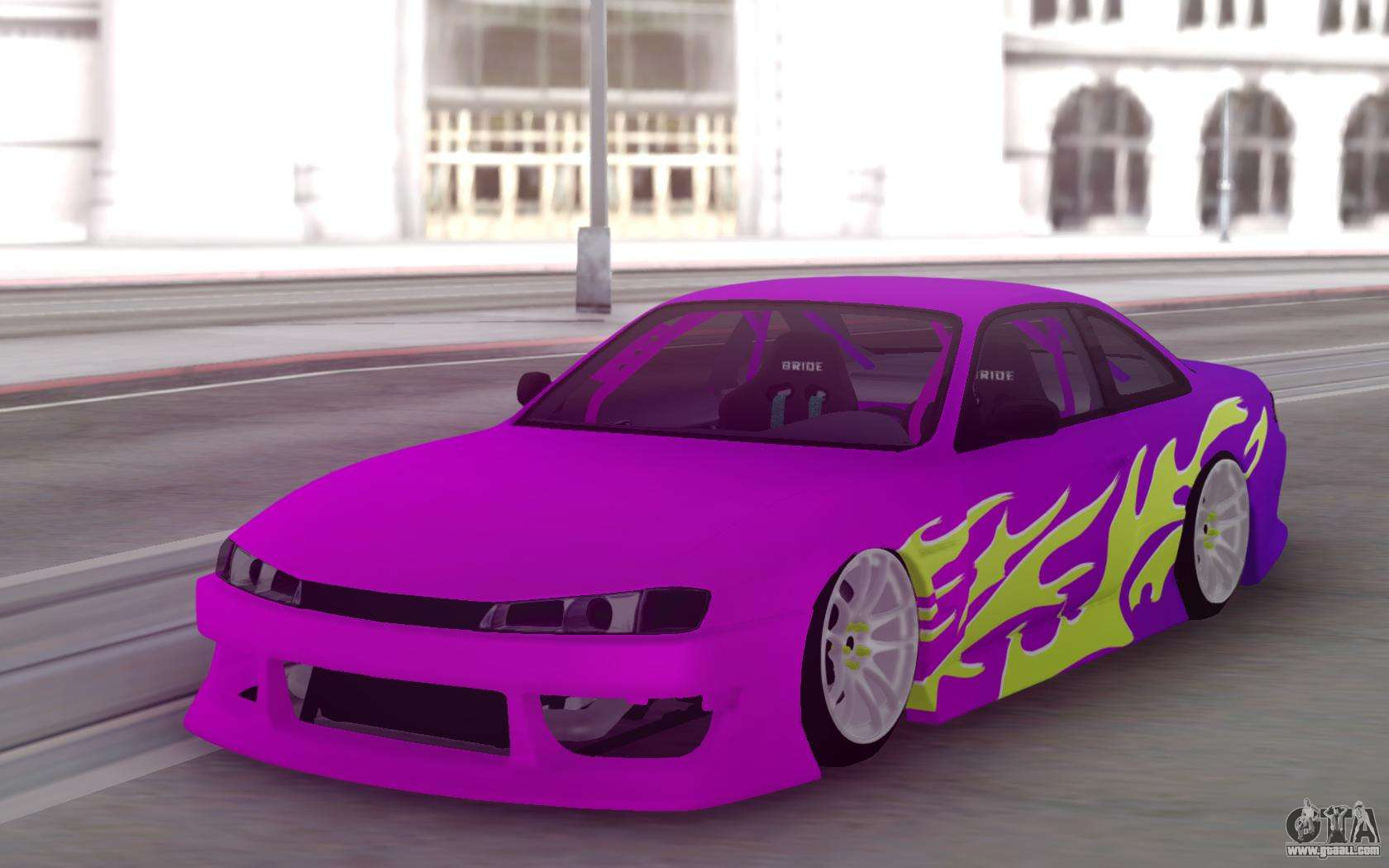 nissan 200sx s14 gradient factory new for gta san andreas. Black Bedroom Furniture Sets. Home Design Ideas