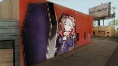 Syoko Hoshi Mural for GTA San Andreas