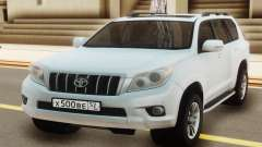 Toyota Land Cruiser Prado White for GTA San Andreas