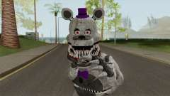 FNaF Fred Bear Grey v7 for GTA San Andreas