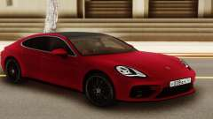 Porshe Panamera Red for GTA San Andreas