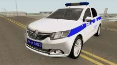Turkish Police Car Renault Logan for GTA San Andreas