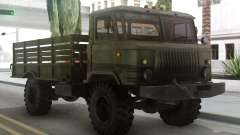 GAZ 66 with a body and Tende