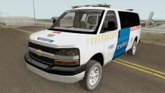 Chevrolet Express Hungarian Police Rendorseg for GTA San Andreas