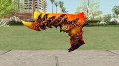 Rules of Survival Deagle Magma Demon for GTA San Andreas