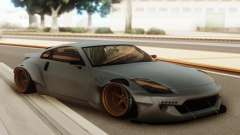 Nissan 350z Rocket Bunny Grey for GTA San Andreas