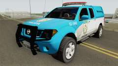 Nissan Frontier PMERJ 2013 for GTA San Andreas