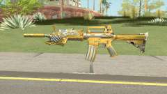 CF M4A1-S Beast Noble Gold for GTA San Andreas