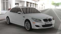BMW M5 E60 Clear White for GTA San Andreas