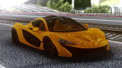 McLaren P1 Orange for GTA San Andreas